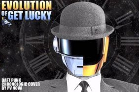 evolution get lucky daft punk parodia