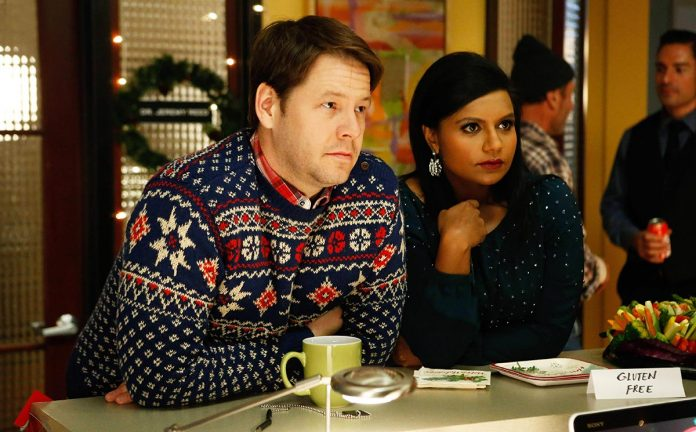 "Ike Barinholtz nel ruolo di Morgan Tookers nella Serie tv ""The Mindy Project""."