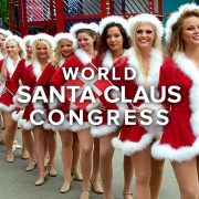 World Santa Claus Congress: la festa dei Babbi Natale